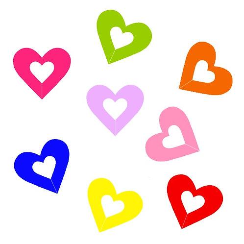 Identificador de Copos (Coração)