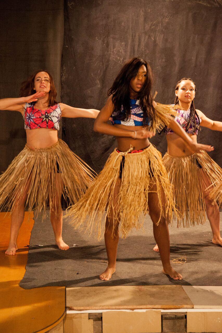 Chorégraphie danse africaine