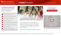Math Forward Mockup