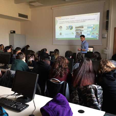 Working with Italian students