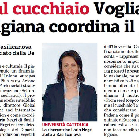 Noticed by Italian local press!