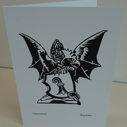 Kunstkarte gedruckt