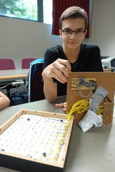Sven mit Prototyp