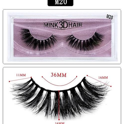 EBB-M-20 Mink Lashes