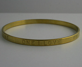 One I Love (3/16-OIL)