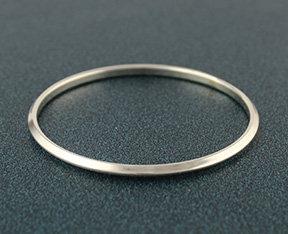 New! Triangle Domed Bangle Bracelet