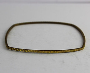 Square Shaped Bangle with Pattern 26