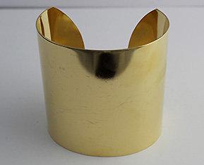 """2 1/2"""" Brass Cuffs"""