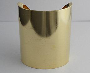 """3"""" Brass Cuffs"""