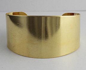 "1 1/4"" Tapered Brass Cuffs"