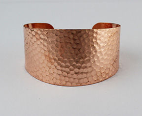 7533-A-CU_Copper_Hammered_Tapered_Cuff_B