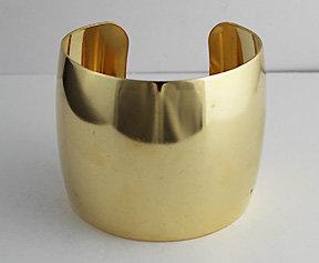"2"" Domed Brass Cuffs"