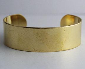 """3/4"""" Brass Cuffs"""