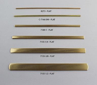 Featured Brass Flat Cuff Bracelets