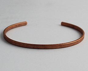 """1/8"""" Copper Cuff Bracelet"""