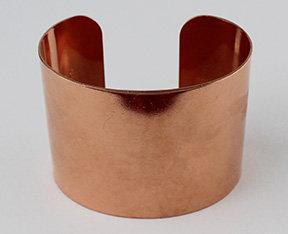 """New! 1 1/2"""" Copper Cuff Bracelets"""