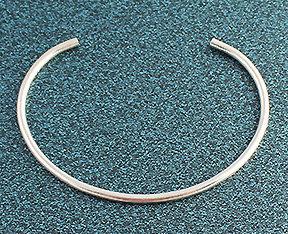 """8122-SS - .100"""" Round Wire Cuff"""