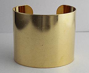 """2"""" Brass Cuffs"""