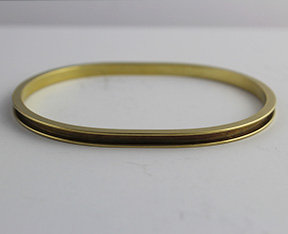 Oval Shaped Bangles for Rhinestone Chain