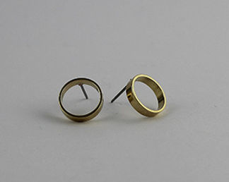 Round Circle Earring