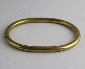 Oval Shaped Round Seamless Bangles