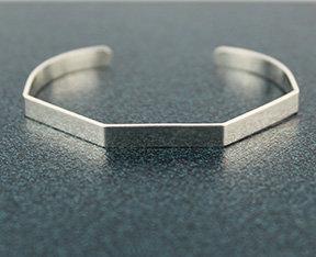 New! Octagon Cuff Bracelets