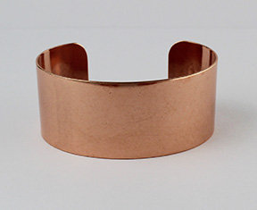 """New! 1 1/8"""" Copper Cuff Bracelets"""