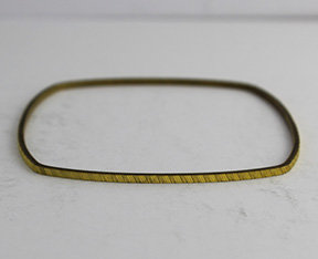 Square Shaped Bangle with Pattern 25