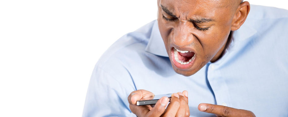 Man Frustrated Over Cash Calls