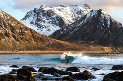 Surfing in Norway