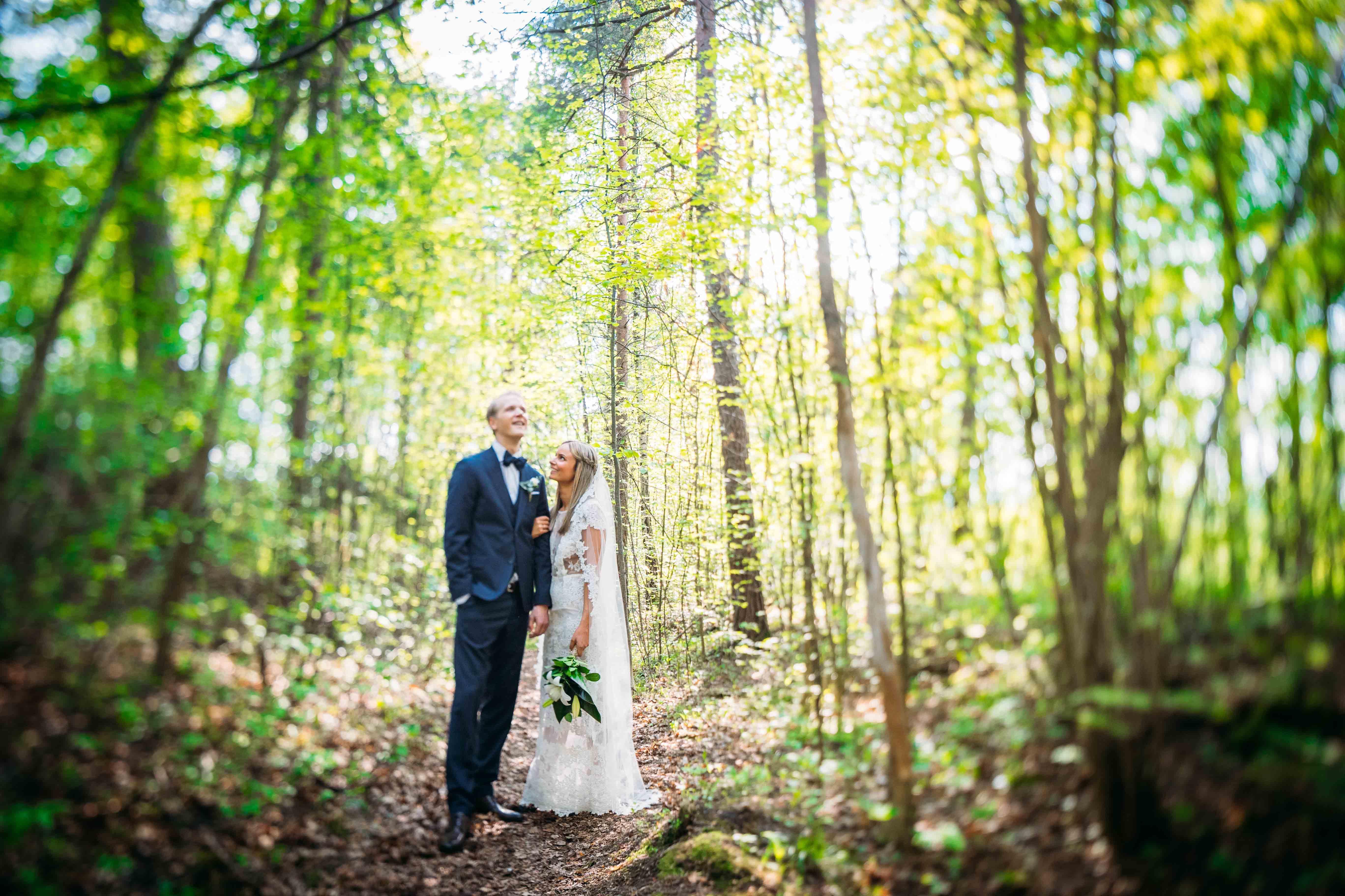 Bryllup i Bærum