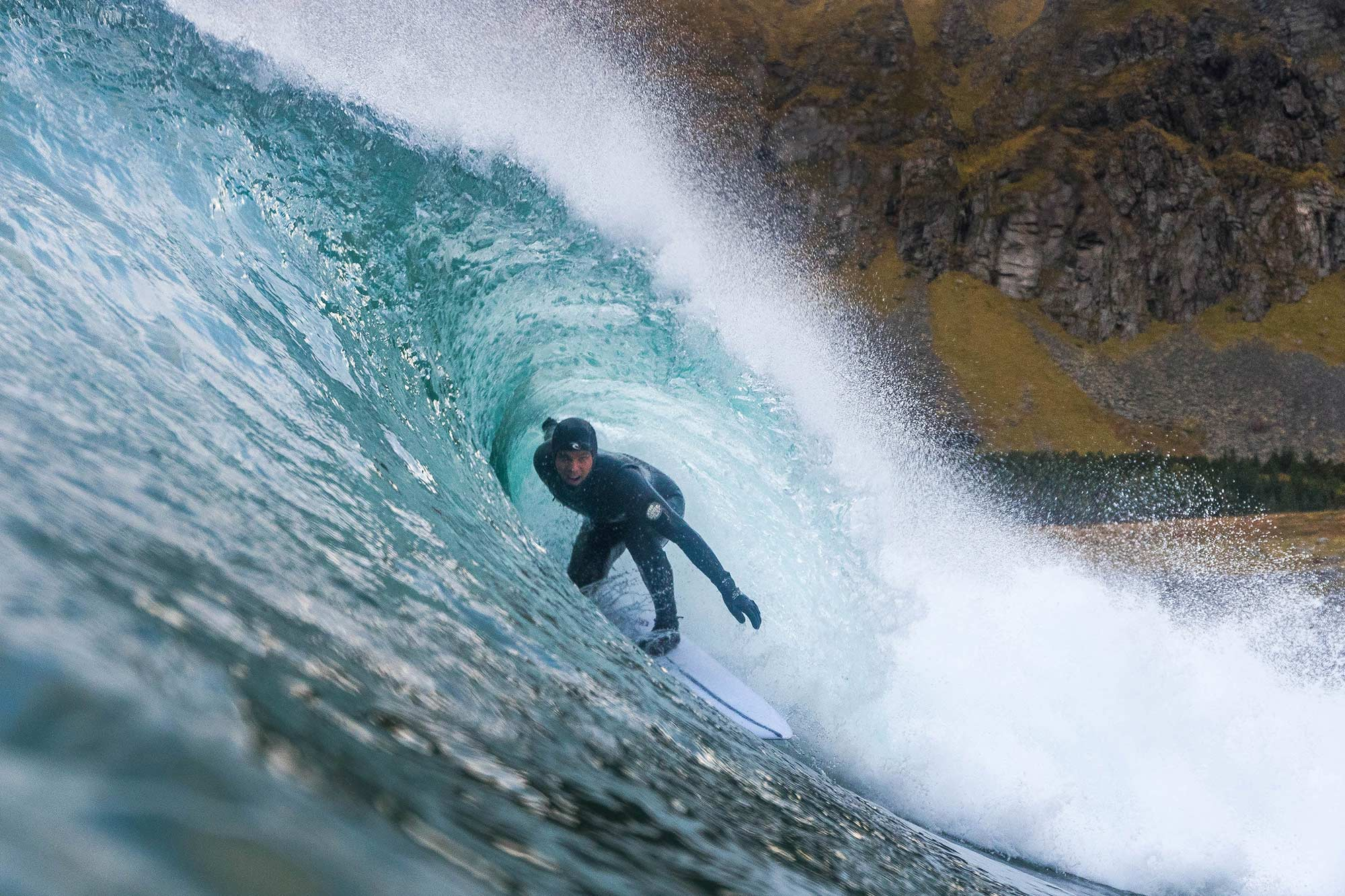 Surfing in Norway