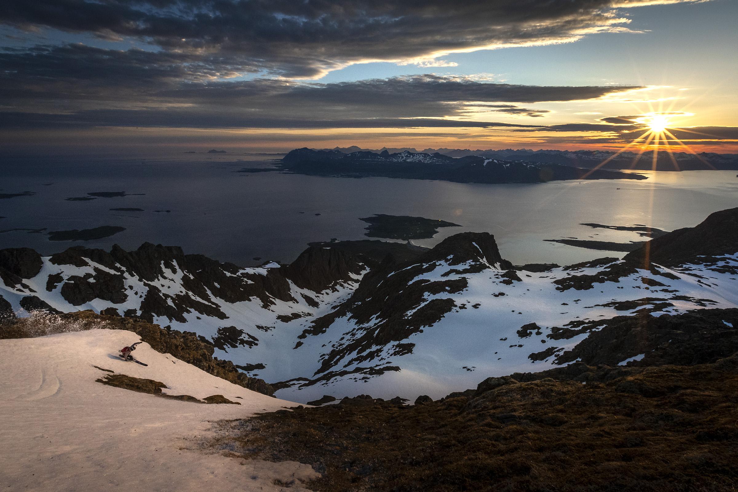 Skiing in Lofoten copy