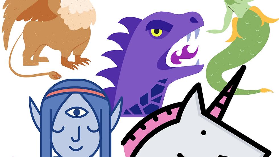 August 23-27: Myths, Legends & Fairytales