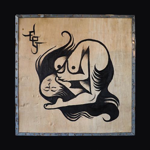 Bent Back Girl/Skull, Fig. V