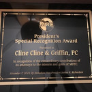 Cline, Cline & Griffin, P.C. and Paul Vance Receive Awards from the MDTC