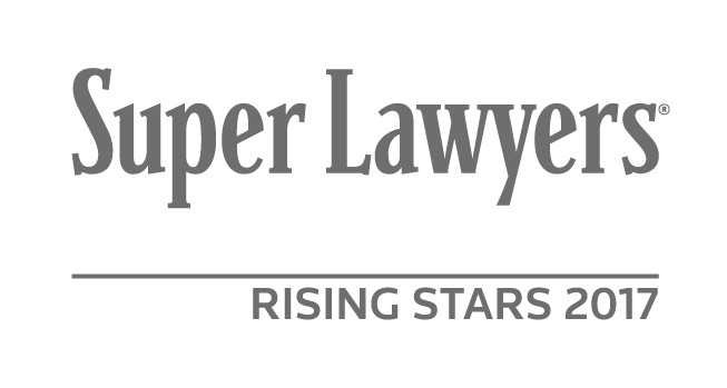 Super Lawyers 2017 Rising Stars