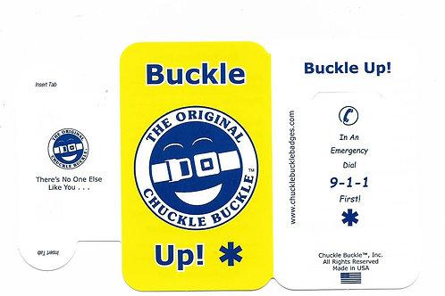 Chuckle Buckle™ Seatbelt ID Badge