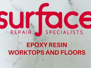 Epoxy resin worktops and floors