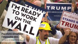 Populisme xénophobe : l'impossible déni