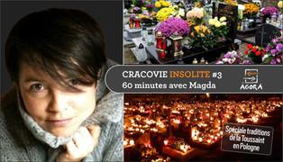Cracovie Insolite #3 - 60 minutes avec Magda ...en direct d'un cimetière polonais