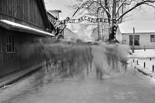 17ème voyage à Auschwitz avec Paul Sobol, témoin