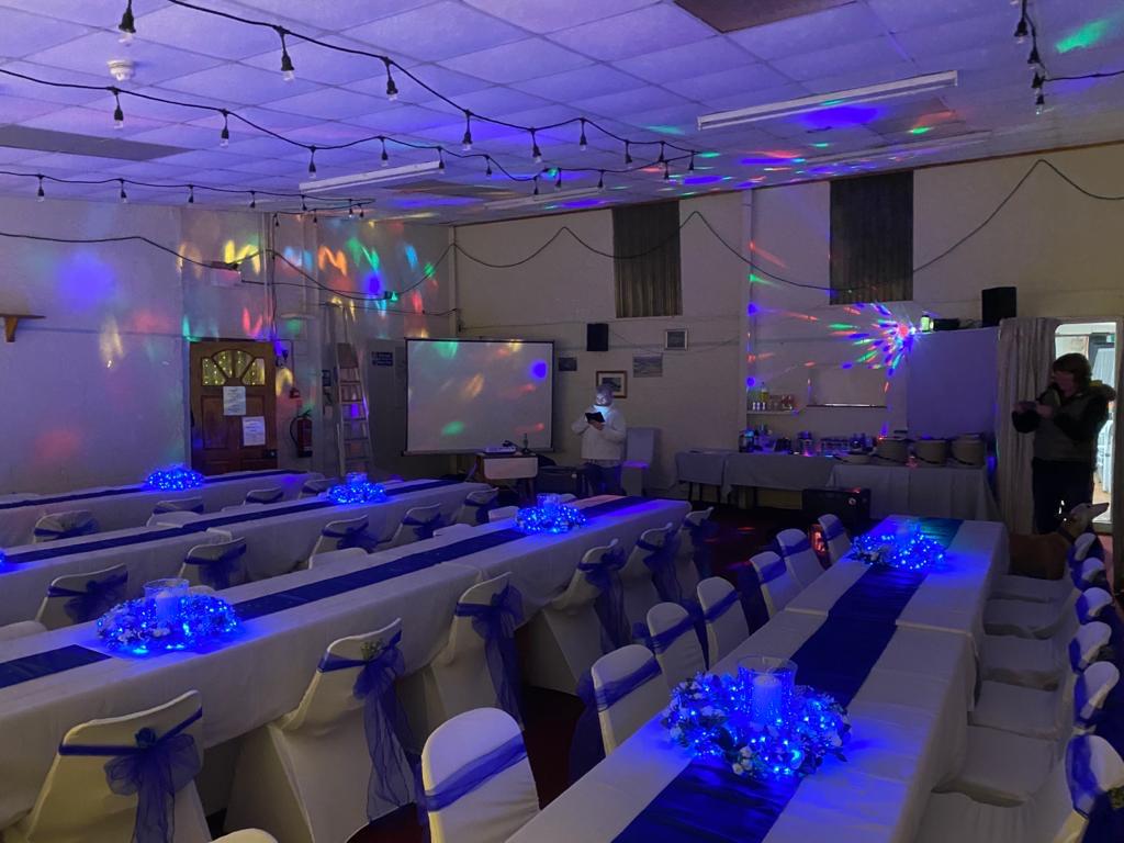 Disco lights...on!