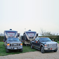 American 5th wheels for sale UK
