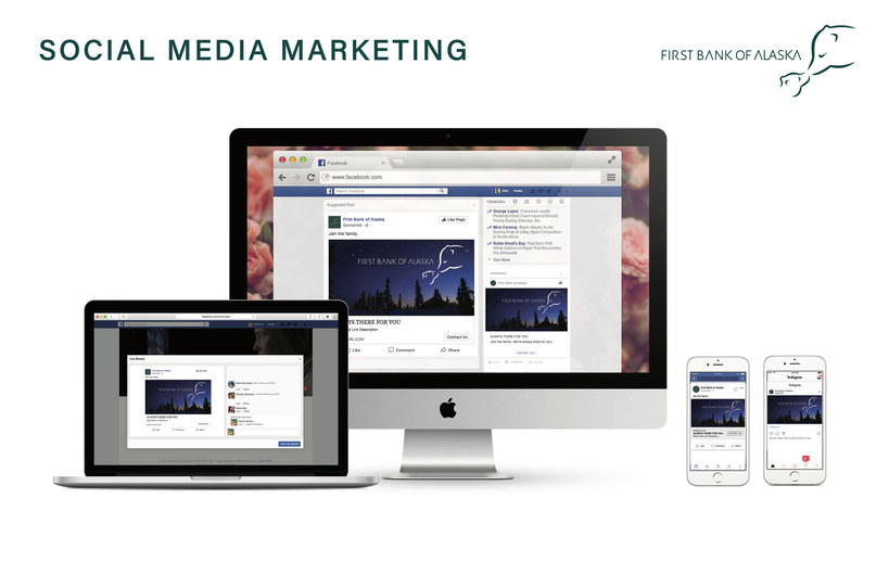 First Bank of Alaska Media Ads