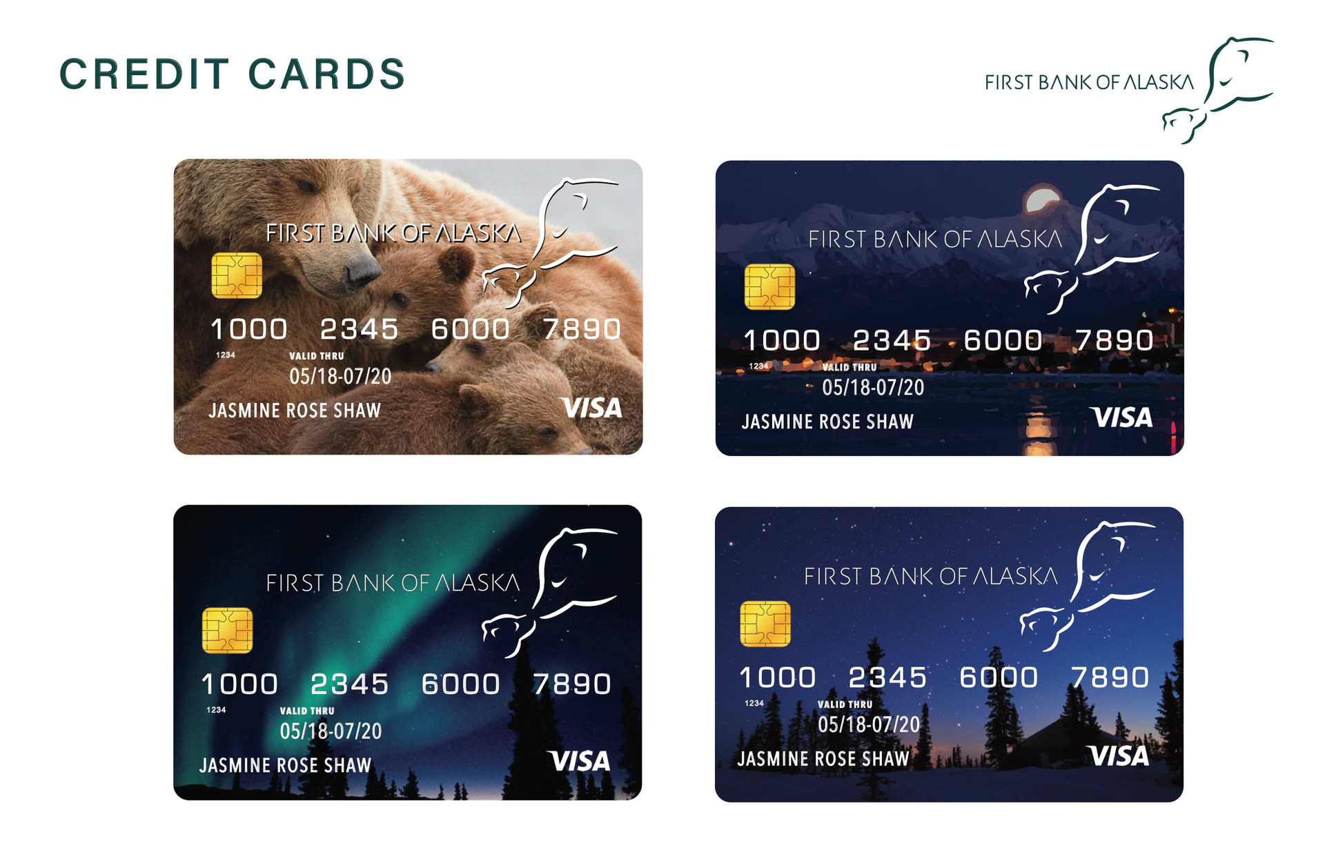 First Bank of Alaska Credi Cards