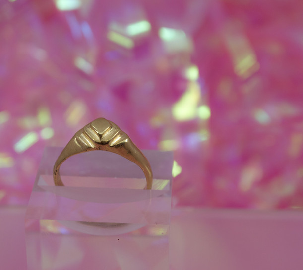 Custom Gold ring