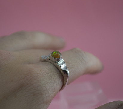 custom opal ring