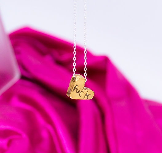 THE CONVERSATION HEART NECKLACE