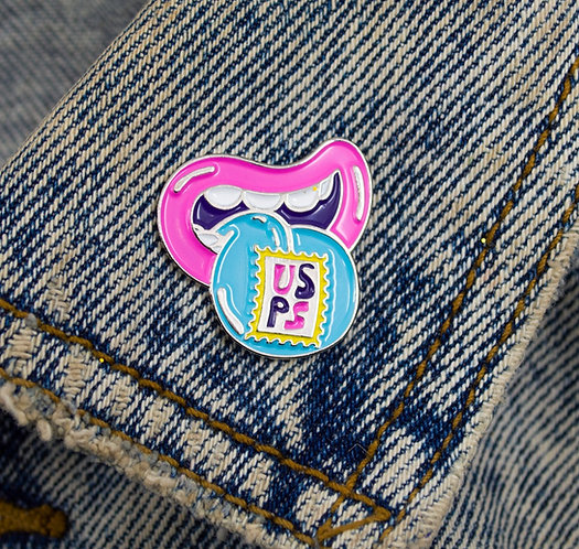 LICK UR STAMPS PIN//MADE OF HEARTS STAMPS